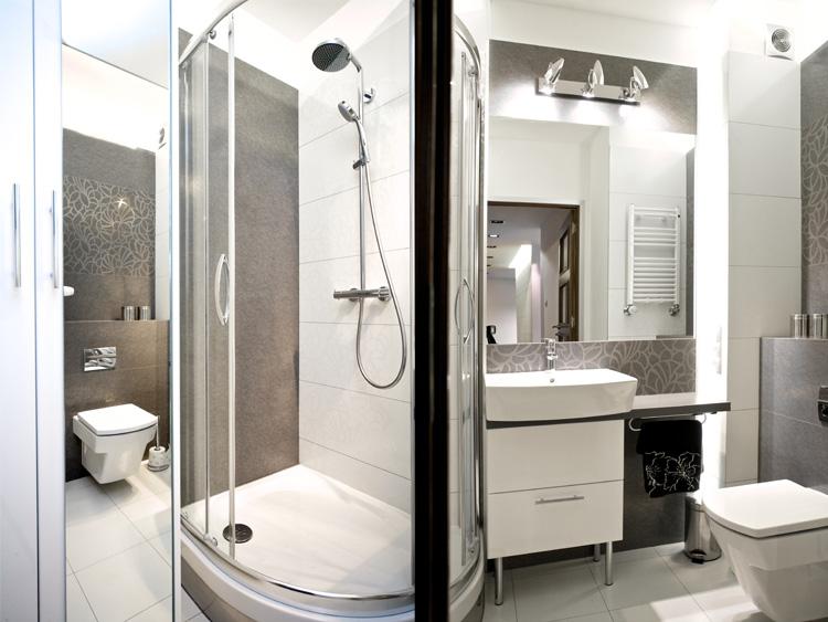 Szara łazienka Wytworność I Elegancja