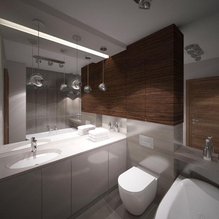 Szara łazienka W Szarościach Inspiracje I Porady